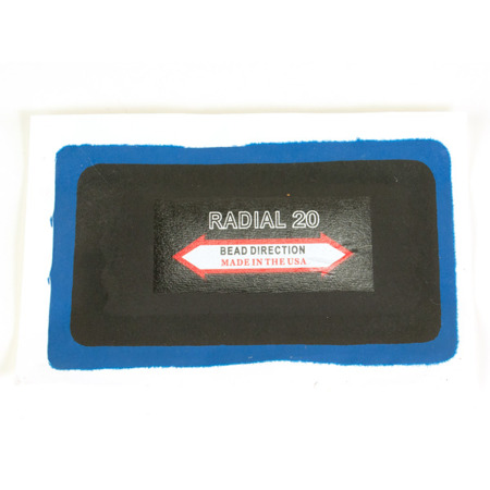 Radial Patch 20 (2ply) 70x125 mm