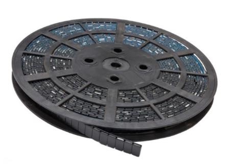 Ciężarek klejony stalowy czarny ROLKA (1200x5g)